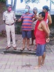 पांडरपाला काली मंदिर में भगवान के गहने चोरी
