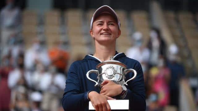 बारबोरा क्रेजीकोवा ने जीता महिला फ्रेंच ओपन 2021 का खिताब, फाइनल में अनास्तासिया पावलीयुचेंकोवा को हराया