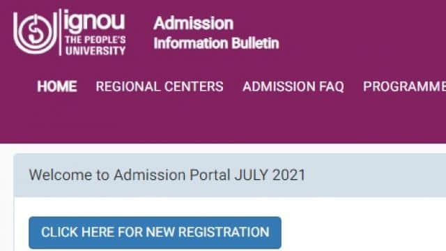 IGNOU Admission 2021: इग्नू ने 16 ऑनलाइन विषयों में आवेदन शुरू किया