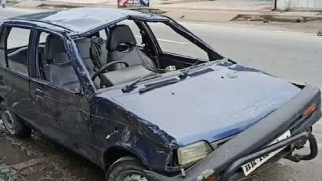 मुजफ्फरपुरः बारात से लौट रहे युवकों की कार बाया नदी में गिरी, तीन की मौत, दो बचाए गए