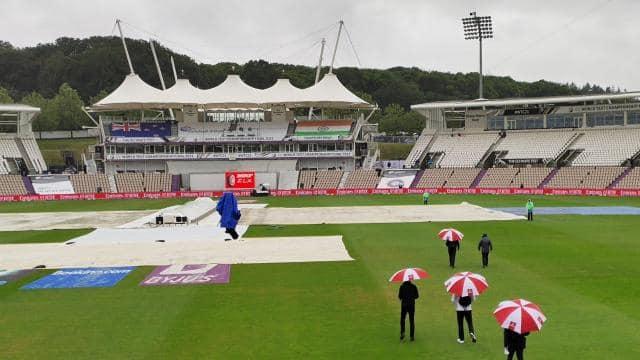 WTC Final IND vs NZ:  साउथम्पटन में बारिश की वजह से पहले दिन का खेल धुला