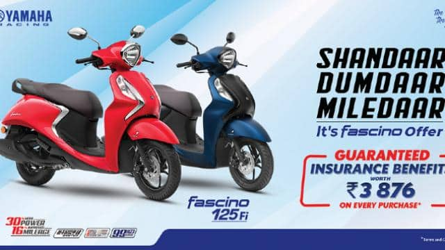 yamaha scooter offer