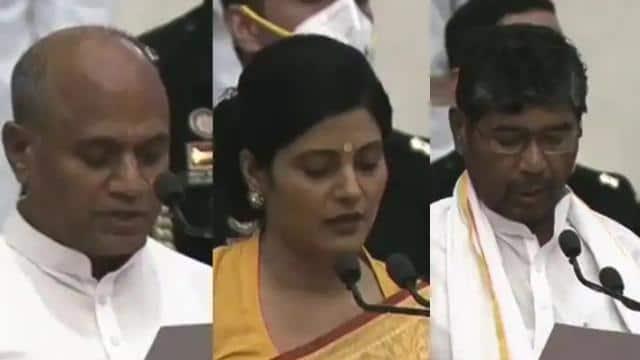मोदी मंत्रिपरिषद में सहयोगी दलों का बढ़ा कद, यूपी-बिहार से तीन दलों के नेताओं ने ली शपथ