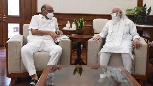प्रधानमंत्री मोदी से मिले NCP चीफ शरद पवार, करीब 1 घंटे तक चली मुलाकात, सियासी अटकलों का बाजार फिर गर्म