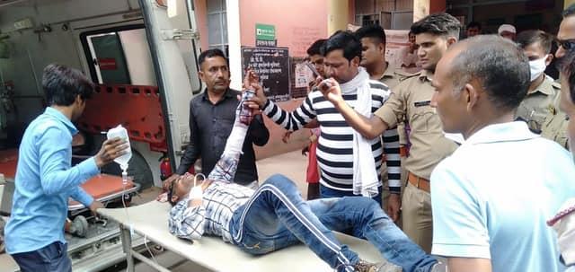 कन्नौज में दरोगा के बेटे ने प्रेमिका के पति को मारी गोली