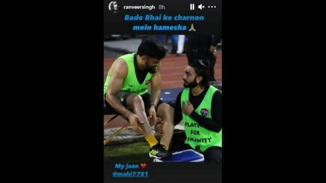 ranveer singh s instagram post
