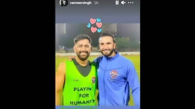ranveer singh s instagram story