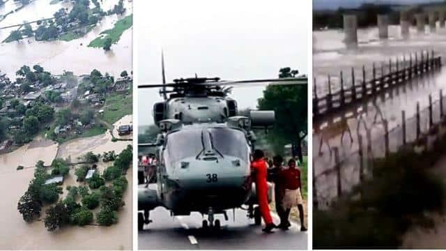 भारी बारिश से मध्य प्रदेश के कई इलाकों में भीषण बाढ़, कहीं टूट गए पुल तो कहीं ट्रेनें भी थमीं