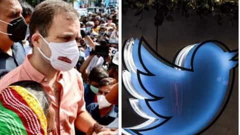 दलित बच्ची के परिजनों की तस्वीर शेयर कर घिरे राहुल गांधी, ट्विटर को जारी हुआ नोटिस