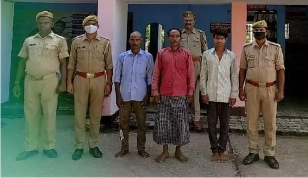 अवैध संबंधों में कुंवर राम की हत्या, तीन आरोपी गिरफ्तार