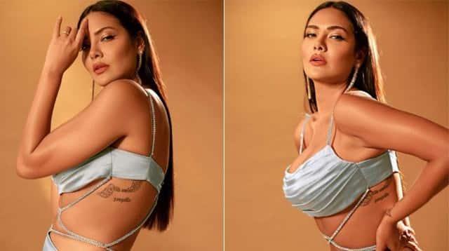 Actress esha gupta looks hot in revealing dress check out - Letest फोटोशूट में ईशा गुप्ता ने ढाया कहर, सीक्रेट टैटू ने खींचा फैन्स का ध्यान 1