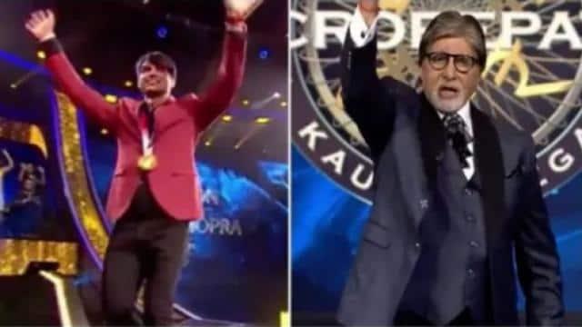 KBC एपिसोड में नजर आएंगे गोल्ड मेडलिस्ट नीरज चोपड़ा और हॉकी टीम के गोलकीपर श्रीजेश, बिग बी ने जोश लगाया 'हिंदुस्तान जिंदाबाद' का नारा; देखें Video
