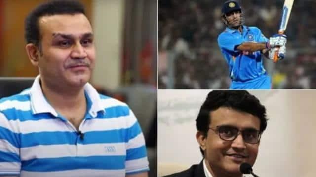 वीरेंद्र सहवाग ने बताया, एमएस धोनी और सौरव गांगुली में कौन थे टीम इंडिया के बेस्ट कैप्टन