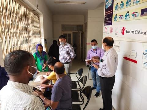 लक्सर में 70 फीसदी टीकाकरण, खानपुर में लक्ष्य पूरा