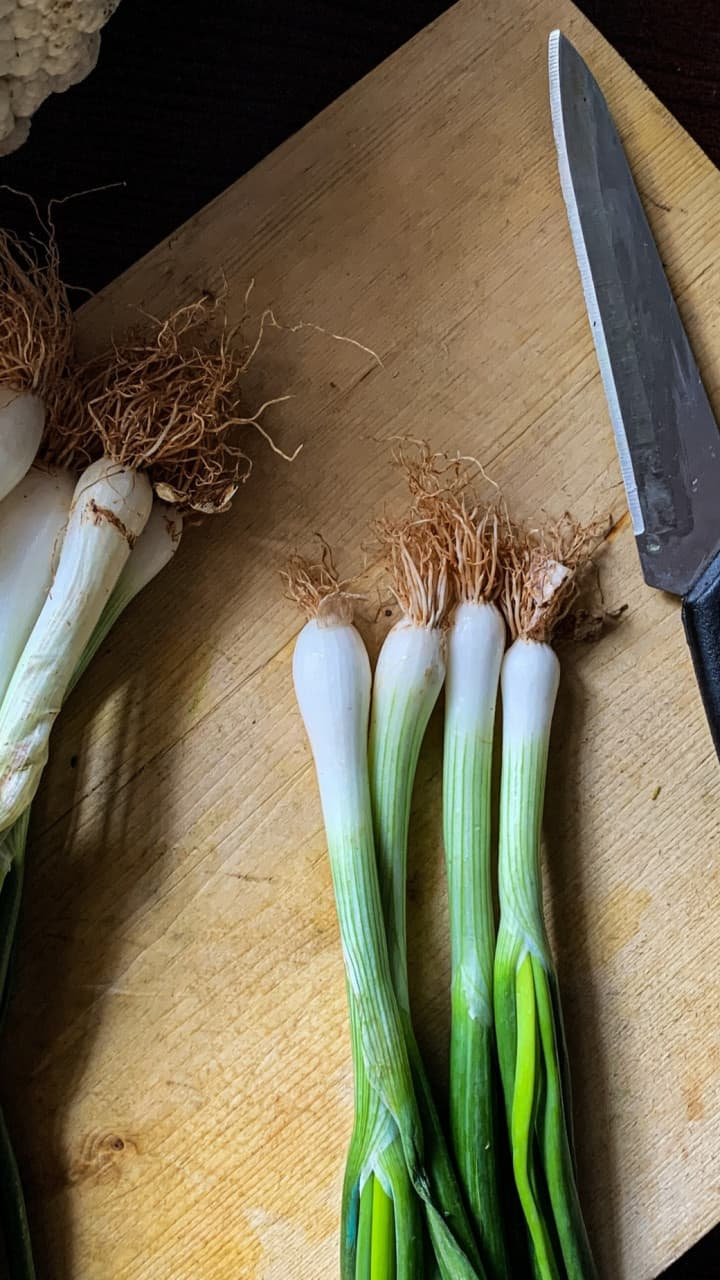 health benefits of spring onion