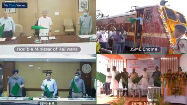 झारखंड-गोवा के बीच सीधे संपर्क का एक और मार्ग खुला, रेलमंत्री ने किया नई ट्रेन का शुभारंभ
