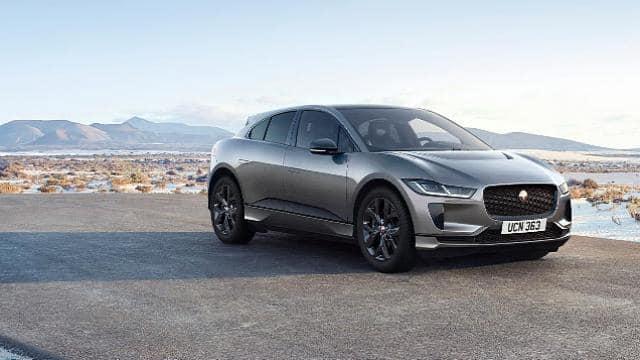 jaguar i pace black electric suv