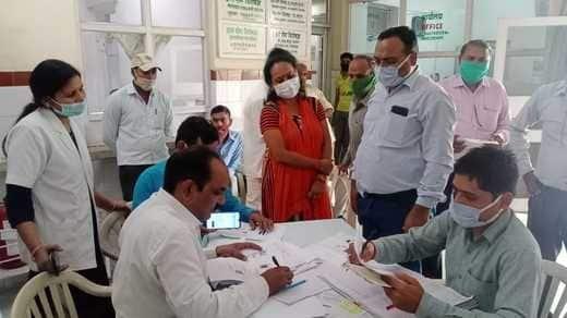 इफको में 270 लोगों को लगा टीका